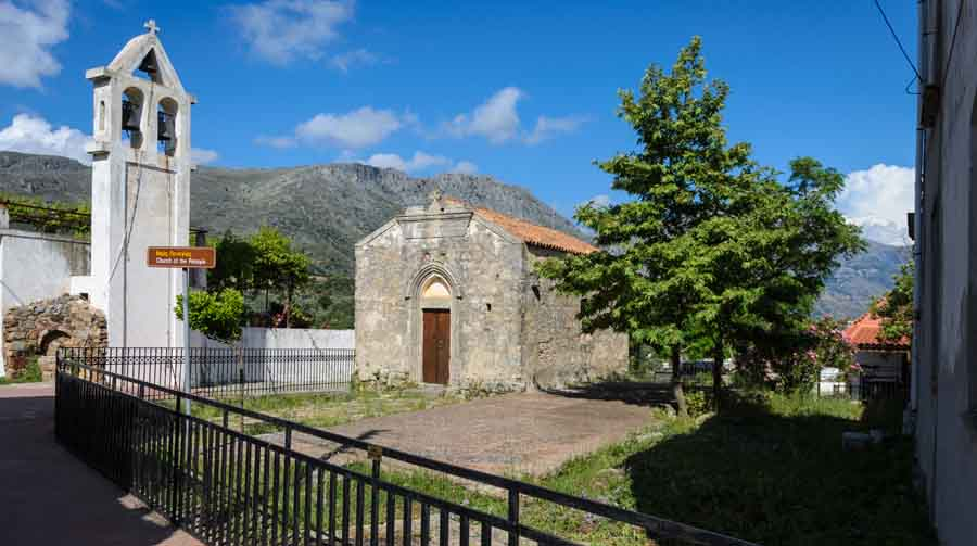 Dormition of Mother Mary Church (Thronos)